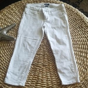 Bebe cropped jeans Size 28